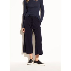 🆕Vince Wide Leg Wool Cashmere Cropped Pants